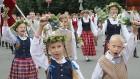 Dziesmu un deju svētku atklāšanas gājiens pulcē Rīgā visus Latvijas novadus (601-700) 23