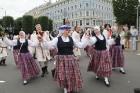Dziesmu un deju svētku atklāšanas gājiens pulcē Rīgā visus Latvijas novadus (601-700) 24
