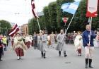 Dziesmu un deju svētku atklāšanas gājiens pulcē Rīgā visus Latvijas novadus (601-700) 30