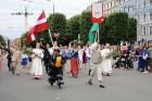 Dziesmu un deju svētku atklāšanas gājiens pulcē Rīgā visus Latvijas novadus (601-700) 49