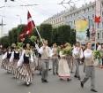 Dziesmu un deju svētku atklāšanas gājiens pulcē Rīgā visus Latvijas novadus (601-700) 62