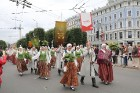 Dziesmu un deju svētku atklāšanas gājiens pulcē Rīgā visus Latvijas novadus (601-700) 67