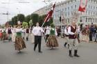 Dziesmu un deju svētku atklāšanas gājiens pulcē Rīgā visus Latvijas novadus (601-700) 71