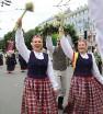 Dziesmu un deju svētku atklāšanas gājiens pulcē Rīgā visus Latvijas novadus (601-700) 78