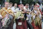 Dziesmu un deju svētku atklāšanas gājiens pulcē Rīgā visus Latvijas novadus (601-700) 94