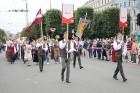 Dziesmu un deju svētku atklāšanas gājiens pulcē Rīgā visus Latvijas novadus (601-700) 98