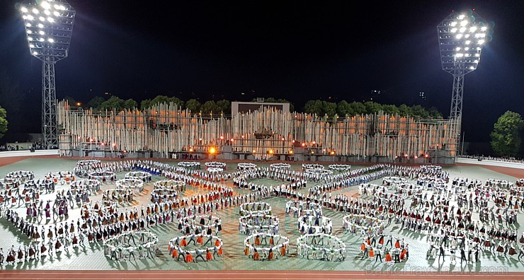 Deju lieluzveduma «Māras zeme» ģenerālmēģinājuma rakstu raksti iedvesmo