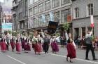 Dziesmu un deju svētku atklāšanas gājiens pulcē Rīgā visus Latvijas novadus (701-800) 4