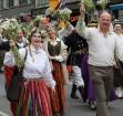 Dziesmu un deju svētku atklāšanas gājiens pulcē Rīgā visus Latvijas novadus (701-800) 5