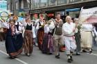 Dziesmu un deju svētku atklāšanas gājiens pulcē Rīgā visus Latvijas novadus (701-800) 13