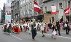 Dziesmu un deju svētku atklāšanas gājiens pulcē Rīgā visus Latvijas novadus (701-800) 16