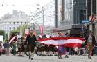 Dziesmu un deju svētku atklāšanas gājiens pulcē Rīgā visus Latvijas novadus (701-800) 17