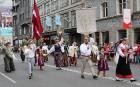 Dziesmu un deju svētku atklāšanas gājiens pulcē Rīgā visus Latvijas novadus (701-800) 41
