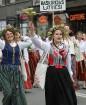 Dziesmu un deju svētku atklāšanas gājiens pulcē Rīgā visus Latvijas novadus (701-800) 56