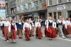 Dziesmu un deju svētku atklāšanas gājiens pulcē Rīgā visus Latvijas novadus (701-800) 57
