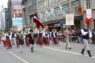 Dziesmu un deju svētku atklāšanas gājiens pulcē Rīgā visus Latvijas novadus (701-800) 73