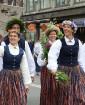 Dziesmu un deju svētku atklāšanas gājiens pulcē Rīgā visus Latvijas novadus (701-800) 74
