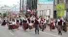 Dziesmu un deju svētku atklāšanas gājiens pulcē Rīgā visus Latvijas novadus (701-800) 96