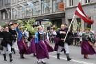 Dziesmu un deju svētku atklāšanas gājiens pulcē Rīgā visus Latvijas novadus (801-845) 10