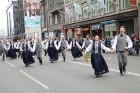 Dziesmu un deju svētku atklāšanas gājiens pulcē Rīgā visus Latvijas novadus (801-845) 17