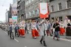 Dziesmu un deju svētku atklāšanas gājiens pulcē Rīgā visus Latvijas novadus (801-845) 40