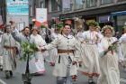 Dziesmu un deju svētku atklāšanas gājiens pulcē Rīgā visus Latvijas novadus (801-845) 42