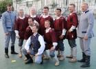 Pirms deju lieluzveduma «Māras zeme» dejotāji uzķer foto mirkļus 24