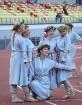 Pirms deju lieluzveduma «Māras zeme» dejotāji uzķer foto mirkļus 25