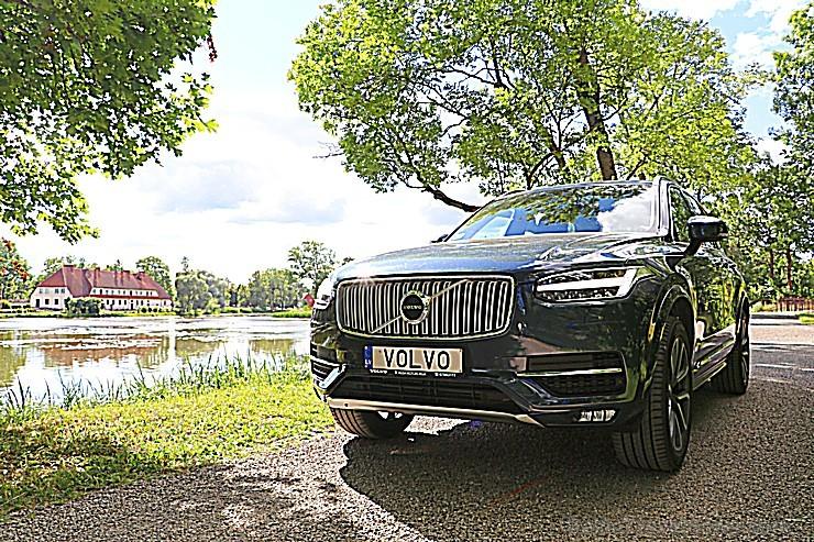 Travelnews.lv ar jauno «Volvo XC90» apceļo Dienvidkurzemi