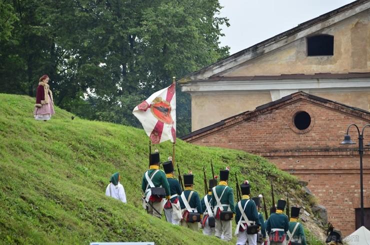 Daugavpils cietoksnī aizvada Dinaburg 1812 festivālu