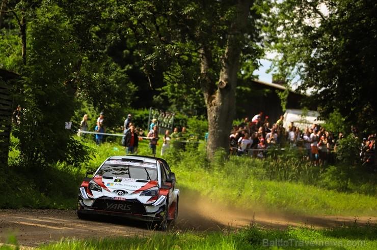 Igaunijā norisinās gada lielākais autosporta pasākums - Shell Helix Rally Estonia. Foto: Gatis Smudzis