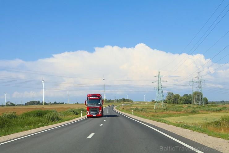 Travelnews.lv ar jauno Audi A6 apceļo vēju pilsētu Liepāju