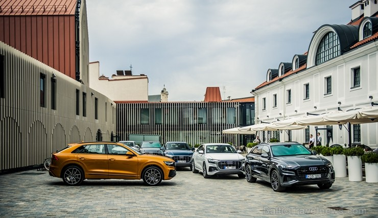Latvijā prezentē daudzpusīgo Audi Q8