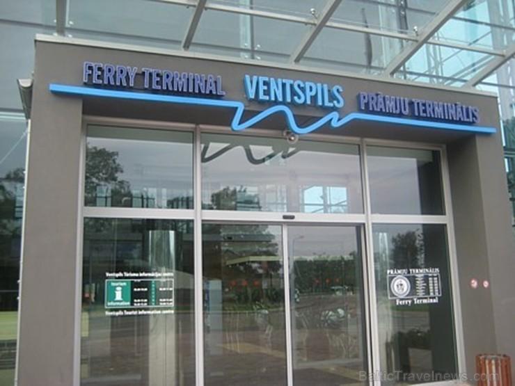 Ventspils prāmju terminālī atklāj sajūtu projekciju «Iemīlies Ventspilī»