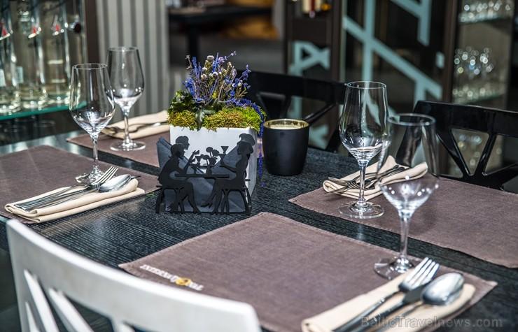 Elegantais Rīgas restorāns «International» viesiem piedāvā īpašu atmosfēru