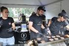 Otrais «Rīgas Burgeru Festivāls 2018» 4.08.2018 noskaidroja ātrāko ēdāju un labāko burgeru 48