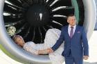 Travelnews.lv iepazīst «airBaltic» jauno lidmašīnu «Airbus A220-300». Atbalsta: Starptautiskā lidosta «Rīga» 17