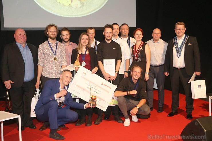 Latvijas 2018. gada pavārs ir Dinārs Zvidriņš un pavārzellis ir Anastasija Verbicka. Atbalsta: Riga Food 2018