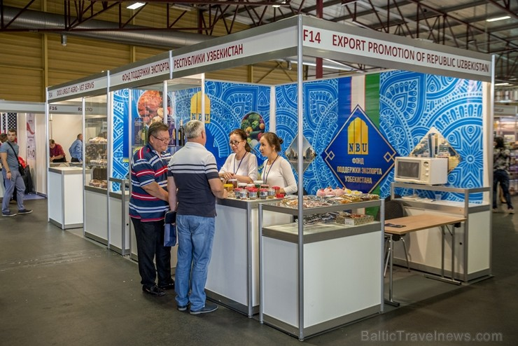 Ar Latvijas kulinārā piedāvājuma pārbagātību varēja iepazīties «Riga Food 2018»