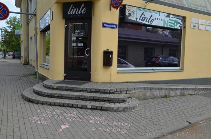 Skolēni Valmierā aicina atzīmēt Dzejas dienas