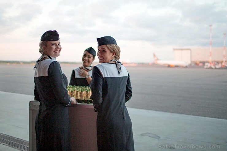 Somijas lidsabiedrība «Finnair» Helsinkos prezentē savu jauno filmu