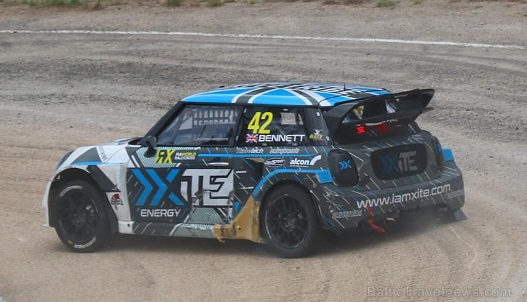 FIA pasaules rallijkrosa čempionāta posms «Neste World RX of Latvia» nosaka čempionus