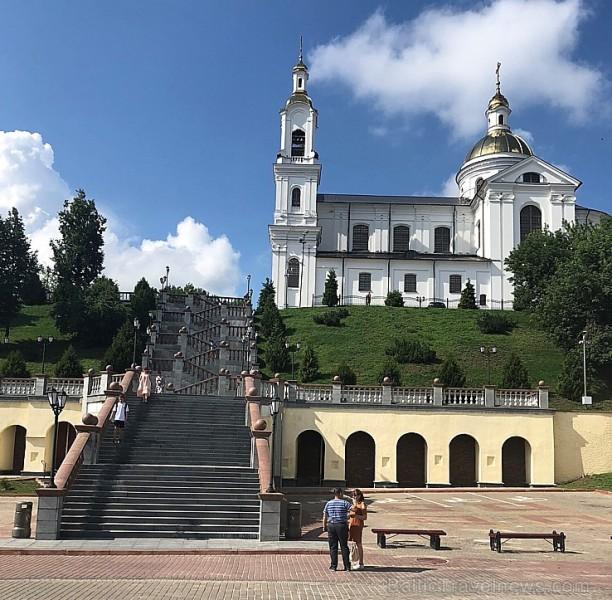 Divas senākās Baltkrievijas pilsētas Vitebska un Polocka ir sakoptas un pilsētas centri atjaunoti