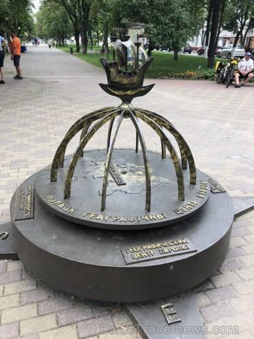 Viens no Eiropas centriem atrodas Polockas galvenajā bulvārī