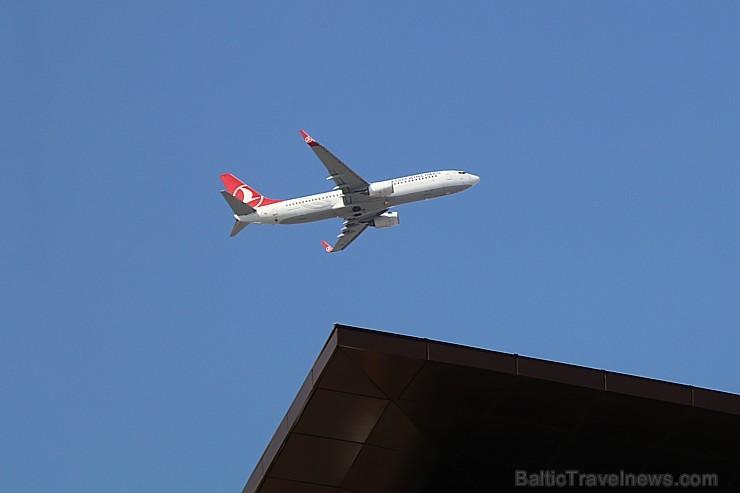Travelnews.lv ar «Turkish Airlines» atbalstu izbauda Stambulas dizaina viesnīcu «Elite World Europe Hotel». Bildēts ar Samsung Galaxy Note8
