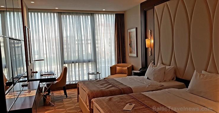 Travelnews.lv ar «Turkish Airlines» atbalstu izbauda Stambulas dizaina viesnīcu «Elite World Europe Hotel». Bildēts ar Samsung Galaxy Note8 234045