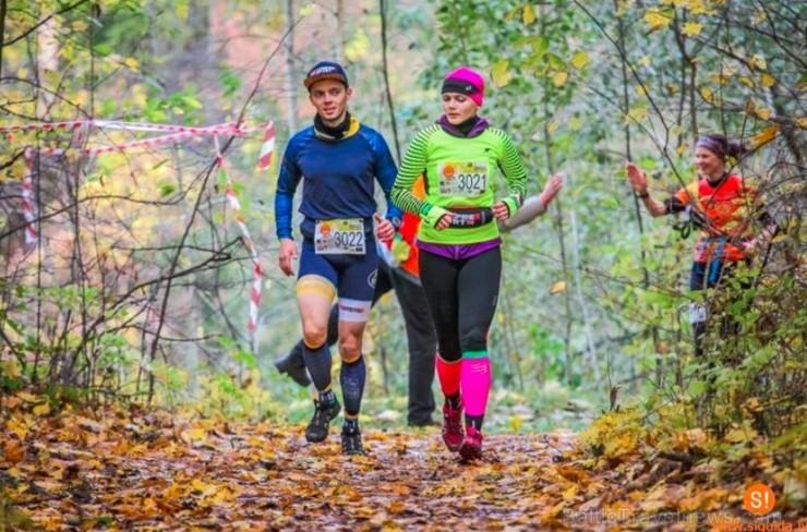 Siguldas kalnu maratons izaicina un pārbauda kā fizisko, tā psiholoģisko gatavību... Foto: M. Gaļinovskis, Sigulda.lv