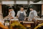 Vecrīgas restorāns «Amber» katru svētdienu piedāvā jaunu konceptu «Vēlās brokastis ar ģimeni». Foto no Aksels Zirnis Photographie 20