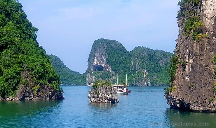 Travelnews.lv ar kruīzu kuģi dodas divu dienu ceļojumā uz Halongas līci Vjetnamā. Sadarbībā ar 365 brīvdienas un Turkish Airlines 235244