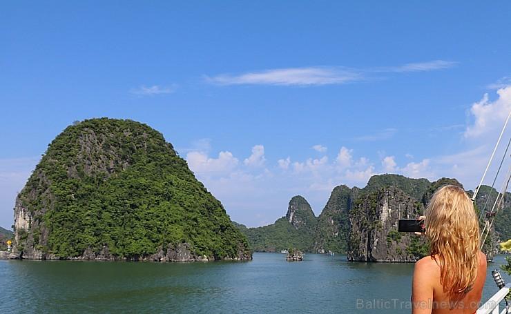 Travelnews.lv ar kruīzu kuģi dodas divu dienu ceļojumā uz Halongas līci Vjetnamā. Sadarbībā ar 365 brīvdienas un Turkish Airlines 235255